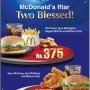 McDonald's Iftar Two Blessed Offer!