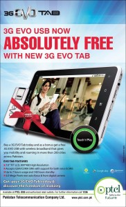 3G EVO USB Free With New 3G EVO TAB