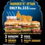 Hardees Ramadan Iftar Deal 2012
