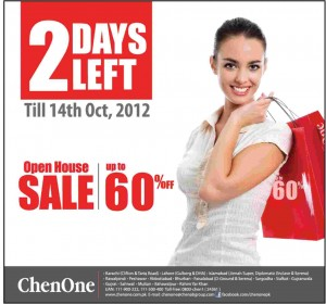 Chen One Open House SALE upto 60% off