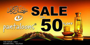 PaPantaloons Karachi Ramadan Sale 2013