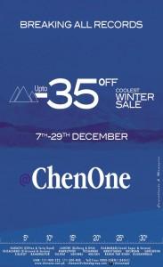 ChenOne Winter Sale December 2013