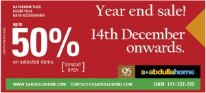 S.Abdulalh Home Sale December 2013