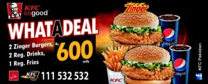 KFC Pakistan Deal 2014