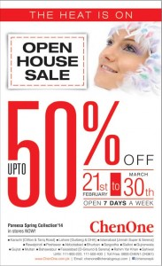 Chenone Pakistan Sale February 2014
