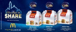McDonald's Share Box Ramadan Deals 2014 Pakistan