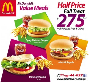 McDonald's Value Meal 2015