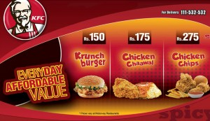 KFC Everyday Affordable Value Deals 2015