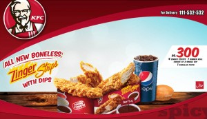 Zinger Strips with Dips