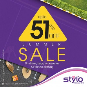 Stylo Shoes Sale 2015 Summer Collection