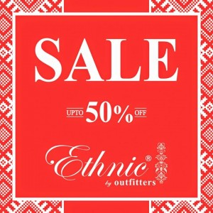 Ethnic by Outfitters Summer Sale 2015