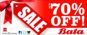 Bata Summer Sale 2015