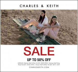 Charles and Keith Karachi Sale 2015