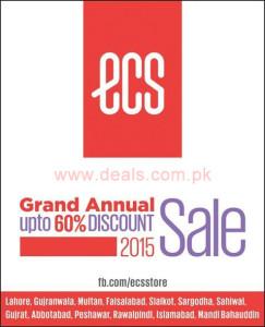 ECS Shoes Sale August 2015