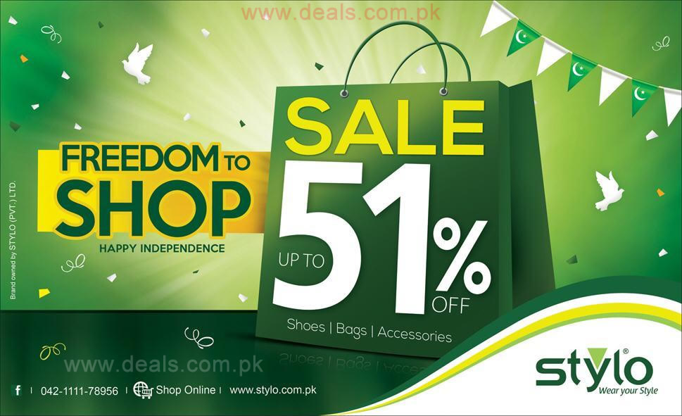 in Pakistan » Stylo Shoes Sale August 2015 Shoes, Bags & Accessories